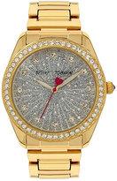 Betsey Johnson Betseys Holiday Gold Bubbles Watch
