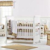 Bacati Metro Khaki/Chocolate 4 Piece Crib Set