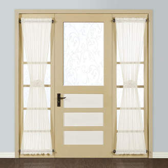 UNITED CURTAIN CO United Curtain Co. Monte Carlo Rod-Pocket Sidelight Curtain