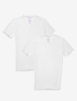 Tommy John Cool Cotton High V-Neck Undershirt (Set of 2)