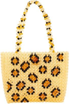 Susan Alexandra Orange Plastic Handbags