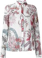 Just Cavalli floral print shirt - women - Viscose - 40