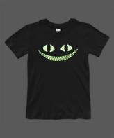 Urban Smalls Black Glow Cheshire Cat Crewneck Tee - Toddler & Boys