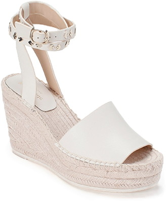 Kate Spade Frenchy Ankle Strap Espadrille Wedge Sandal