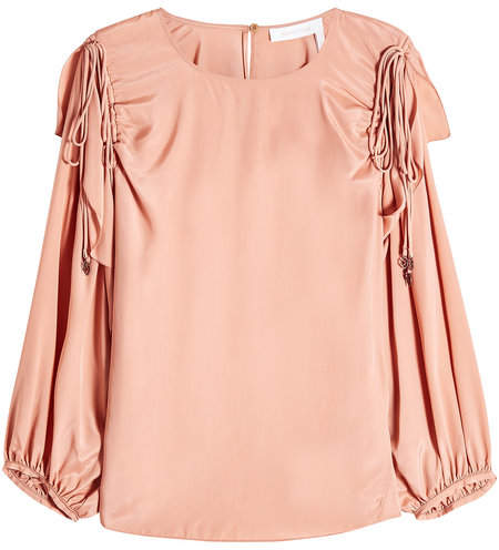 See by Chloe Blouse with Silk
