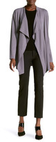 Anne Klein Long Sleeve Waterfall Cardigan