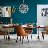 west elm Cast Trestle Dining Table