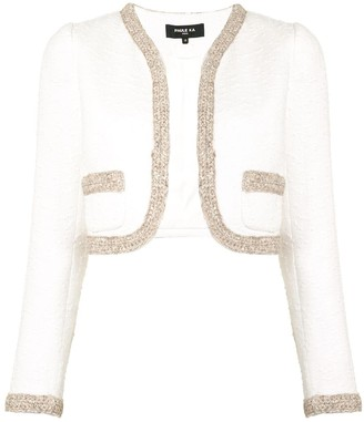 Paule Ka Open Front Cropped Jacket