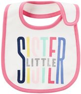Carter's Baby Girl Printed Slogan Teething Bib