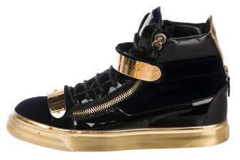 278a9d60eb144 Giuseppe Zanotti Blue Shoes For Men - ShopStyle Canada