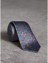 Burberry Slim Cut Silk Jacquard Tie