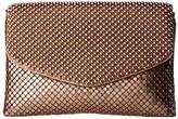 Jessica McClintock Brooklyn Flap Clutch (Blush) Clutch Handbags