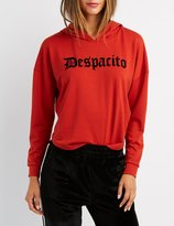 Charlotte Russe Despacito Hooded Sweatshirt