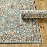 Ballard Designs New 5 x 8 IRVING Wool Traditional Persian Oriental Handmade Wool Rug & Carpet