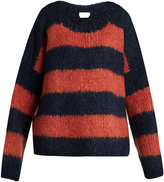 Chloé Striped chunky-knit sweater
