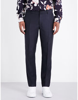 Alexander Mcqueen Tailored Regular-fit Wool-blend Trousers