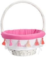 Pottery Barn Kids Tassel Easter Basket Liner Bright Pink, Small