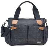 Storksak Baby Kay Crosshatch Diaper Bag