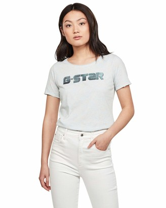 G Star Women's Graphic Mysid Slim Short Sleeve Shirt