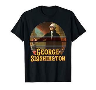 George Sloshington 4th of July Funny American Patriotic T-Shirt