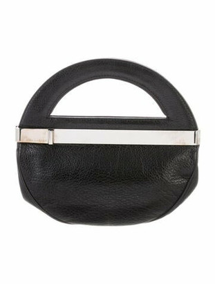 Marc Jacobs Leather Handle Bag Black
