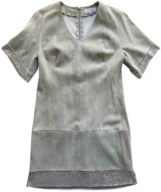 Jitrois Grey Suede Dress for Women