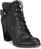 Style&Co. Caitlin Lace-Up Booties, Only at Macy's
