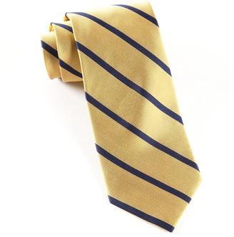 Tie Bar Trad Stripe Gold Tie