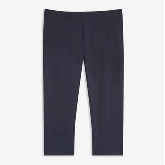 Joe Fresh Kid Girls' Crop Legging, JF Midnight Blue (Size M)