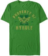 Fifth Sun Men's Tee Shirts KEL - Legend of Zelda Heather Kelly 'Property Of Hyrule' Tee - Men