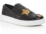 MICHAEL Michael Kors Girls' Ivy Star Slip On Sneakers - Toddler, Little Kid, Big Kid