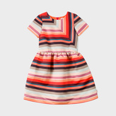 Paul Smith Girls' 7+ Years 'Sunray Stripe' Satin Dress