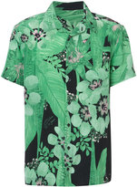 OSKLEN floral print shirt - men - Silk - M