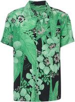 OSKLEN floral print shirt - men - Silk - P