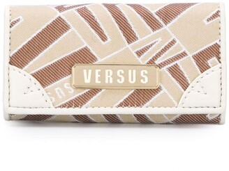 Versus printed panel purse
