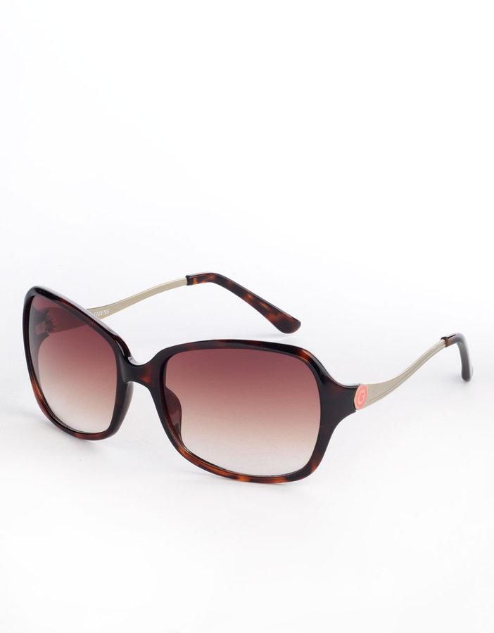GUESS Oversized Logo Sunglasses