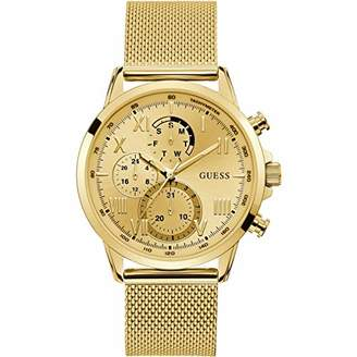 GUESS Mens Analogue Quartz Watch with Stainless Steel Strap W1310G2