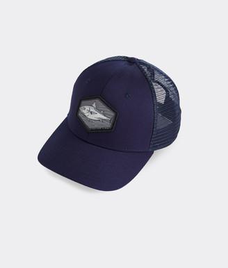 Vineyard Vines Albacore Patch Trucker Hat