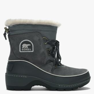 Sorel Torino Quarry & Cloud Grey Lace Up Ankle Boots