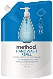 Method Products Gel Hand Wash Refill Pouch, Sea Minerals, 34 oz