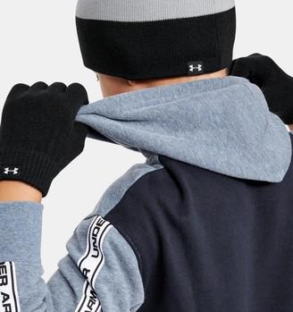 Under Armour Boys' UA Beanie Glove Combo