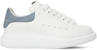 Alexander McQueen 45mm Leather & Suede Sneakers