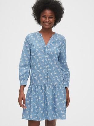 Gap Drop-Waist Dress in TENCEL