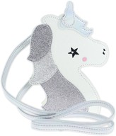 Capelli New York Glitter Unicorn Crossbody Bag