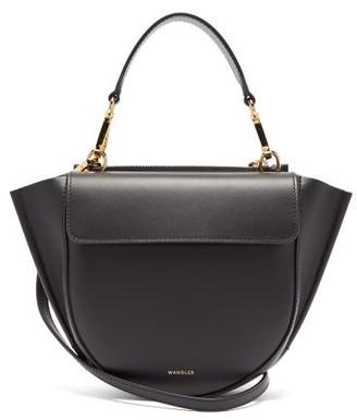 Wandler Hortensia Mini Leather Cross-body Bag - Black