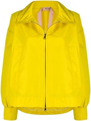 No.21 Zipped Up Oversized Jacket