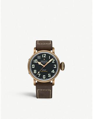 Zenith 29.2430.679/21.C753 Type 20 bronze pilot's watch