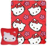 Hello Kitty Flowers 3D Pillow and Throw