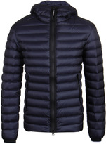 Cp Company Navy Down Quilted Goggle Jacket