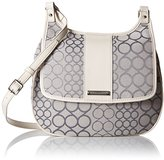 Nine West Split The Difference Messenger Saddle Cross Body
